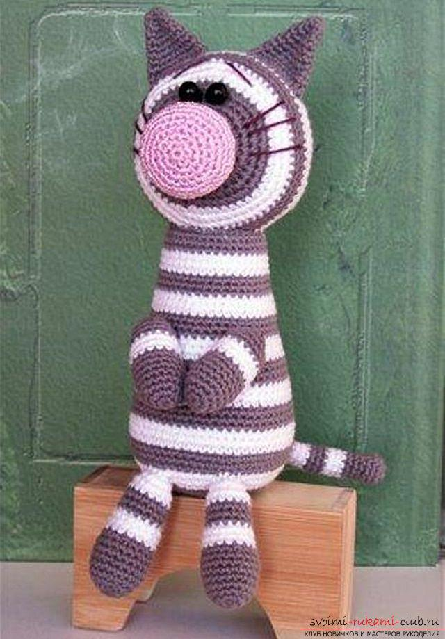 How to tie a crochet in the amigurumi technique with his own hands with a photo and description ?. Photo №5