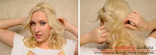 Hairstyle in Greek style on medium hair, an instruction to create a Greek hairstyle with their own hands .. Photo №1