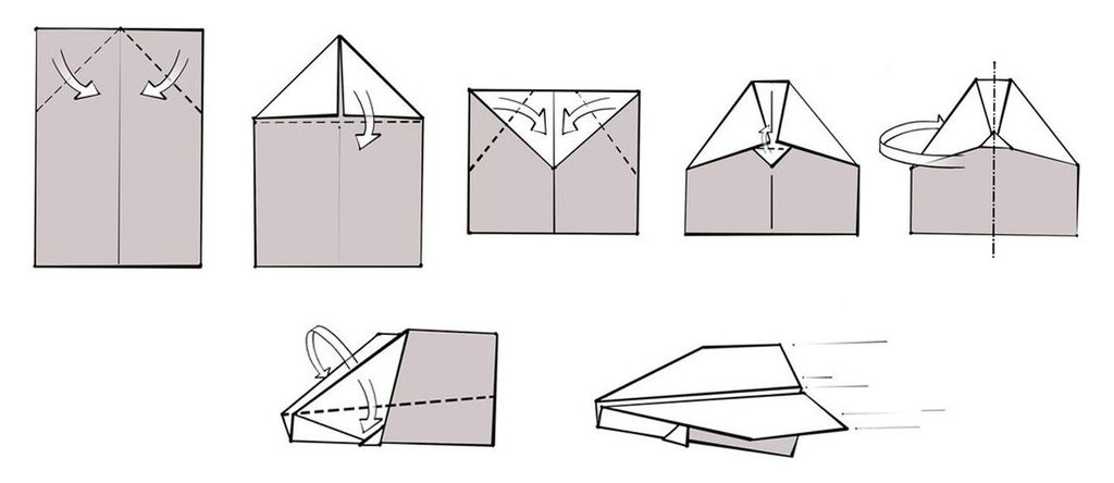 How to make a simple plane out of paper