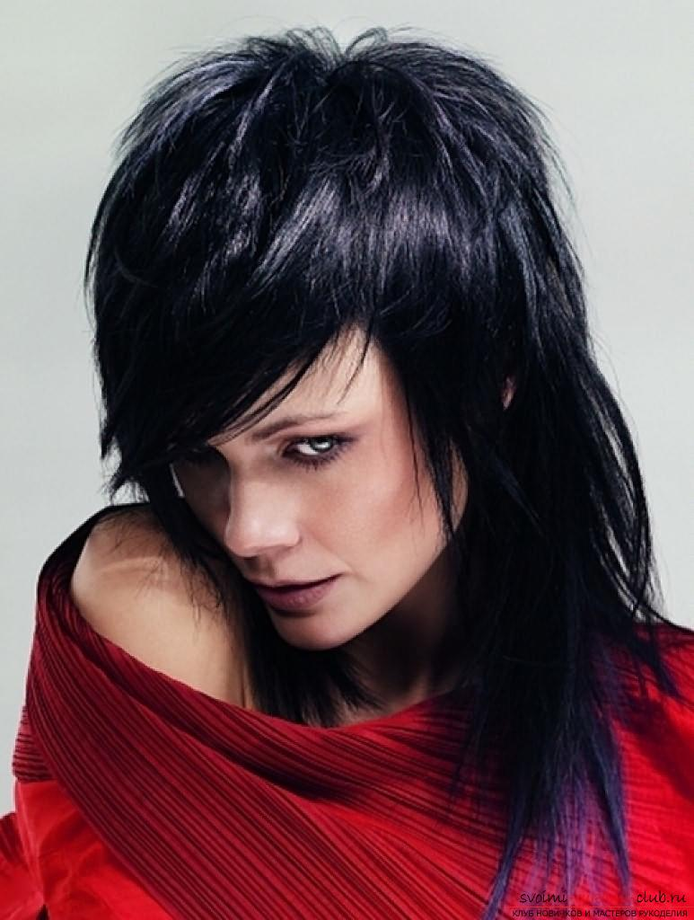 Interesting ideas for creating hairstyles with bangs with your own hands. Photo №6