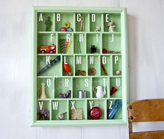 Interactive alphabet for kids with their own hands