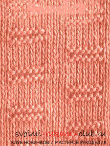 We learn to knit patterns with knitting needles: a lesson for beginner needlewomen. Picture №3