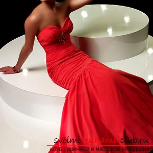 How to make a pattern of evening dresses ?. Photo №1