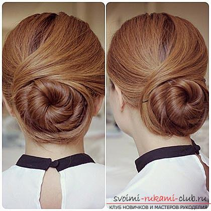 Recommendations for creating an original hairstyle for every day: a bundle with cross strands with your own hands. Photo # 1