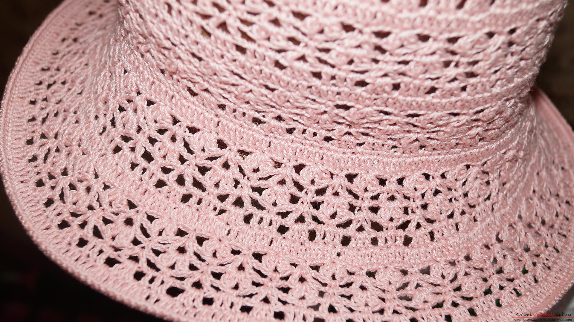 Summer hat crocheted. Photo # 2