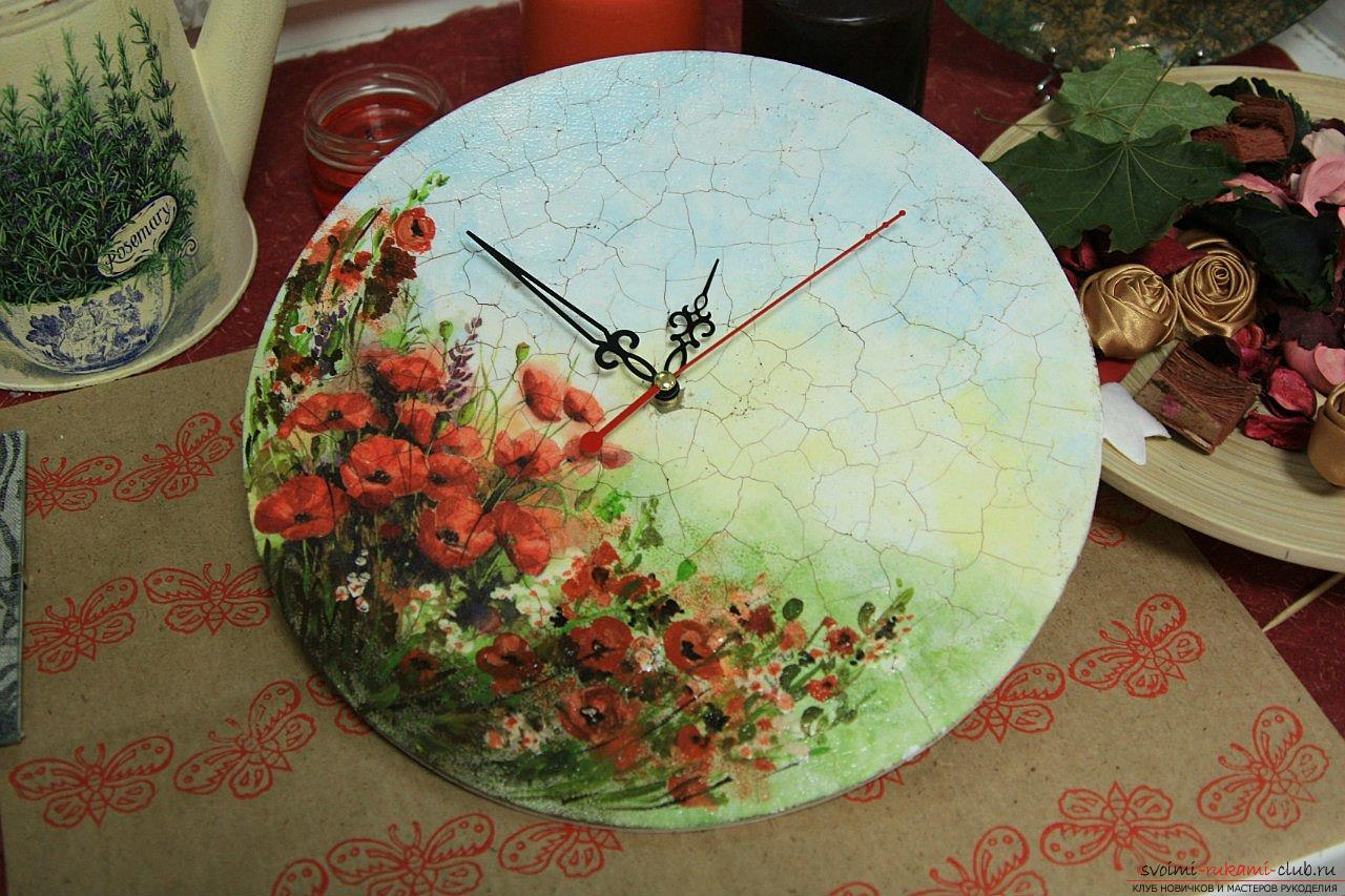 Watch decoupage for beginners. Photo №1