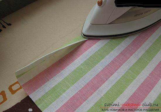 Master class on sewing an apron. Photo №7