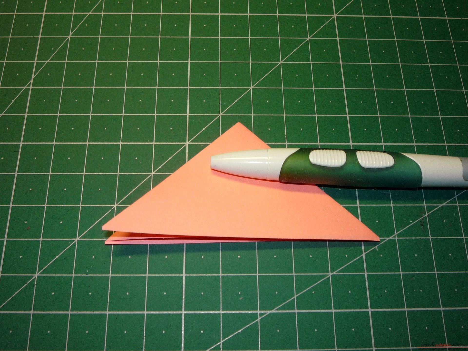 Майсторският клас ще ви каже как да направите модулна звезда от оригами от хартия със собствените си ръце. Снимка №5