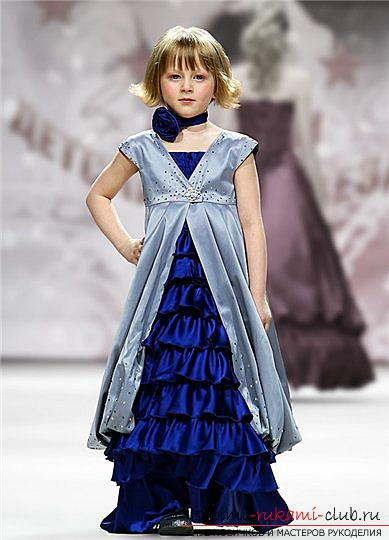 Try to make a beautiful princess dress with your own hands: photos and a master class for tailoring !. Photo №4