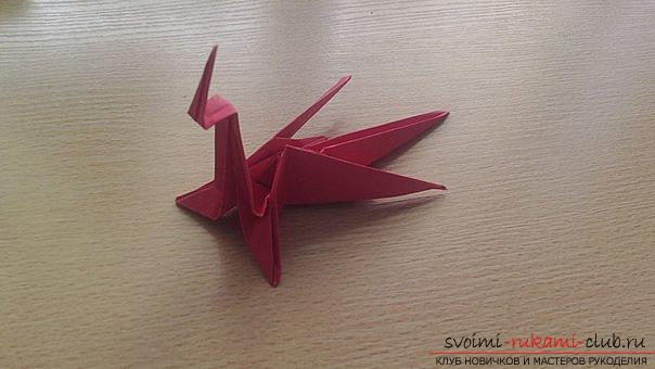 This detailed master class contains an origami-dragon scheme made of paper, which you can make by yourself. Picture # 37