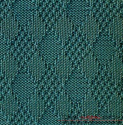 We create simple patterns with knitting needles, patterns of simple patterns and patterns with patterns. Photo Number 9