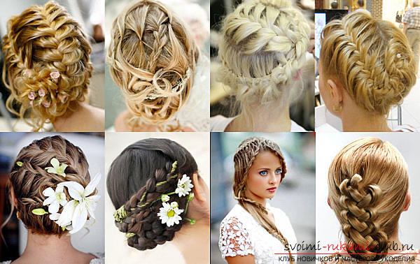 Beautiful hairstyles for thin hair with their own hands - a master class. Picture №10