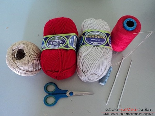 In today's lesson, the crochet crochet knitting pattern. Photo №1