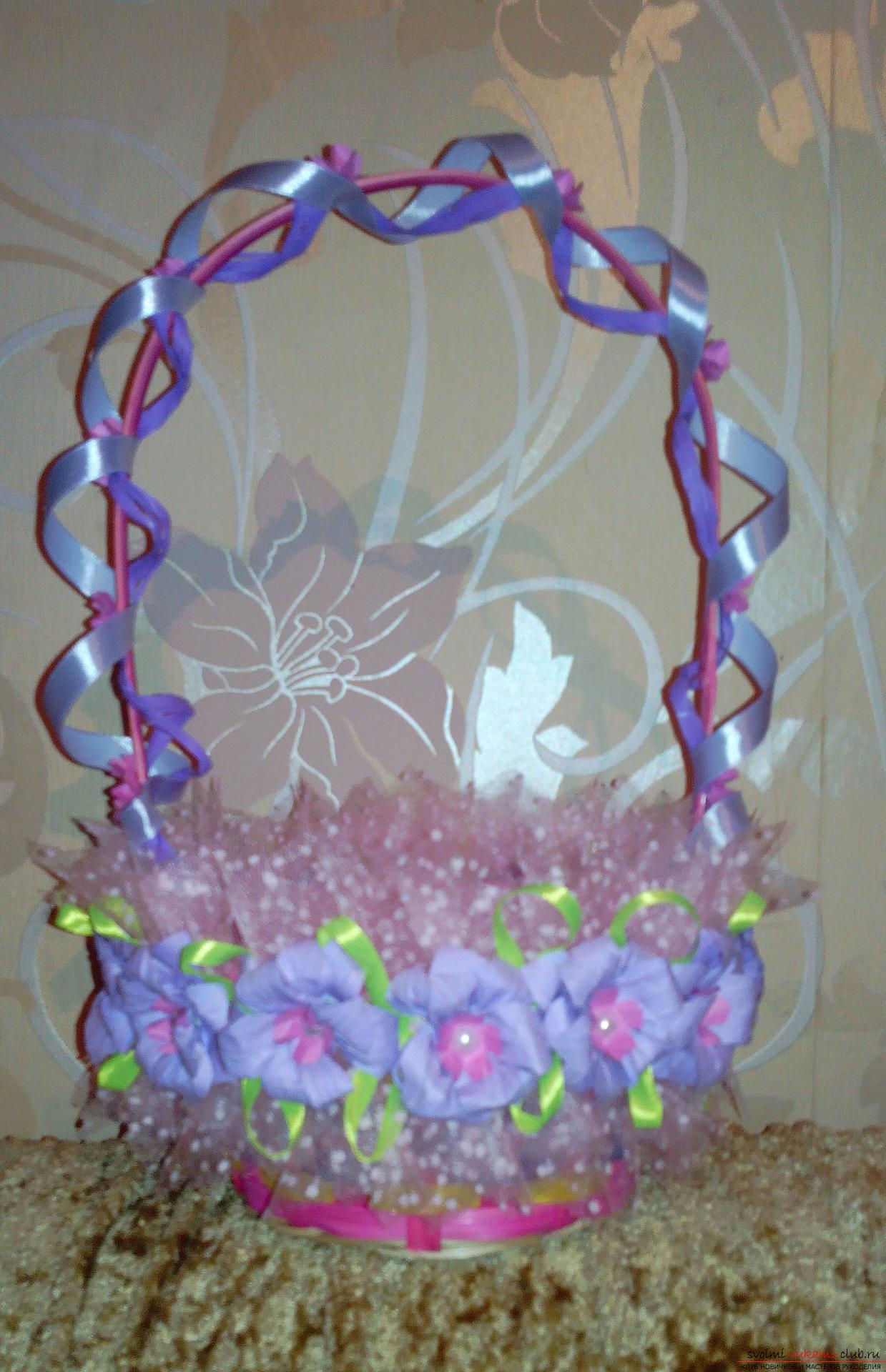 Baskets for a gift by March 8. Photo №4
