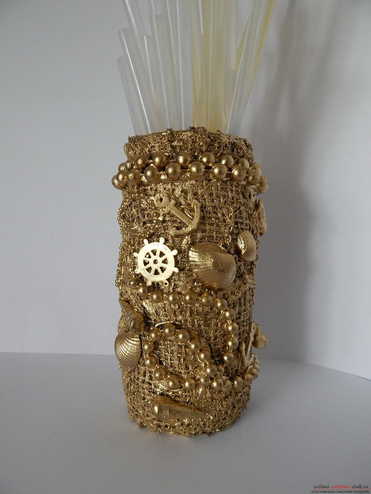 Pencils made of empty coffee cans. Photo №4