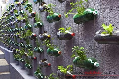 Beautiful crafts with your own hands, crafts made of plastic bottles, how to make a nice and useful hand-made article from plastic bottles with your own hands. Picture №17