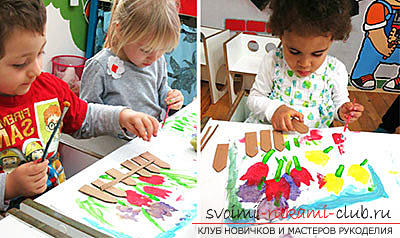 Crafts from paper for young children, free master classes to create gifts from paper on March 8, tips and phased photos .. Photo # 4