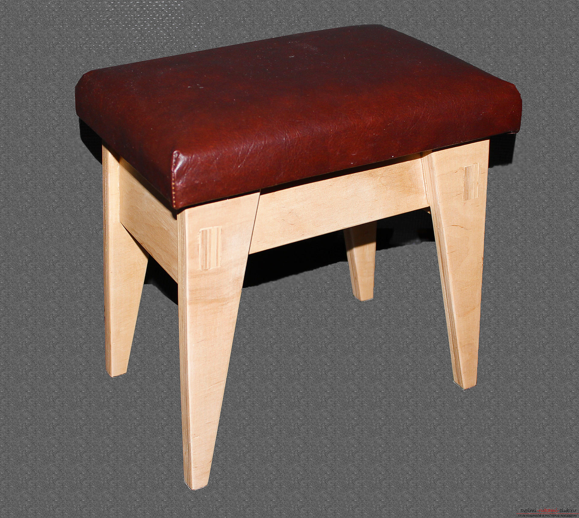 Photo to the lesson on making a small bench for a child with a secret box. Photo №1