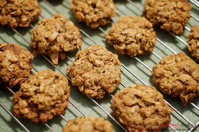 печене на домашно приготвени бисквитки със собствените си ръце: рецепти за бисквитки без изпичане и печене. Снимка # 2