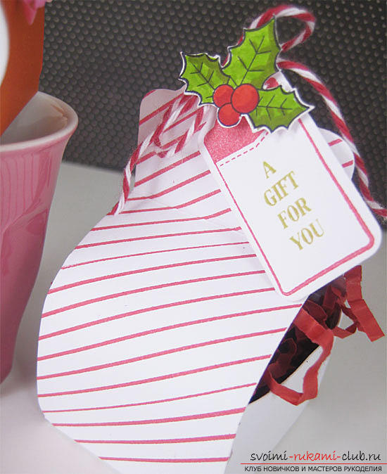 Gift wrapping with your own hands, how to make gift wrapping, its scheme and step-by-step description of the work .. Photo # 2