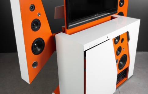 boxetti thrill - компактний модуль з ТВ і аудіосистемою
