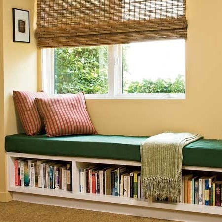 Library and reading sill