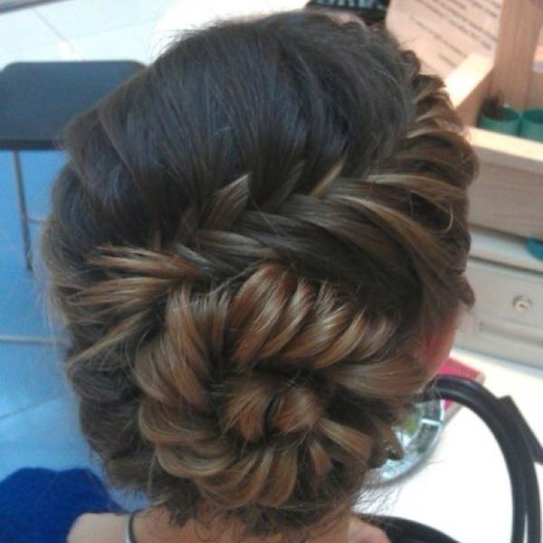 Сучасні плетіння на довге волосся. фото №13