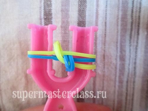 Elastic weave: braid bracelet