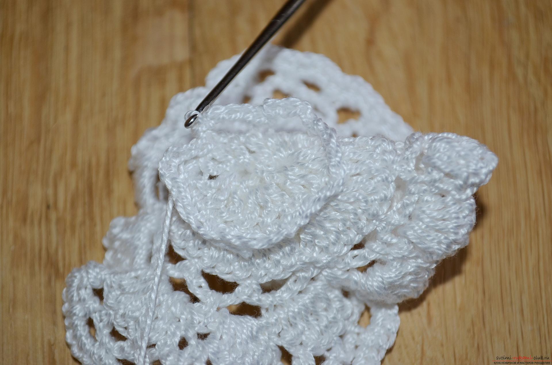 Снимка на урок по плетене на една кука