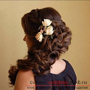 A lot of wedding hairstyles for 2016 with their own hands. Photo number 20