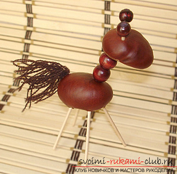 Here's what you can do from chestnuts .. Picture №7