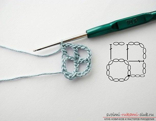 We make a beautiful napkin - crochet patterns and patterns for work. Photo №6