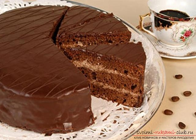 Long forgotten cake recipe. With a delicious, delicate and delicious cake