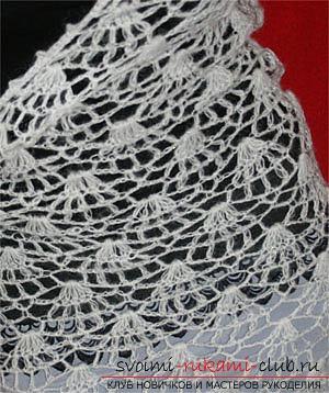 Плетива модели на шалове за плетене на една кука безплатно. Снимка №4
