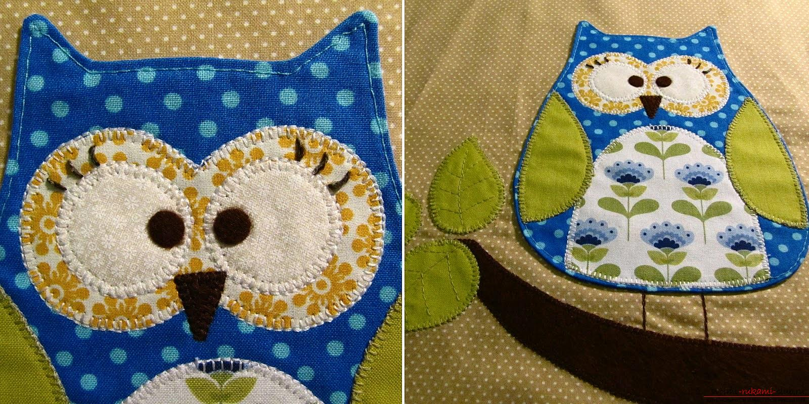Sewing the pillow-owl with your own hands. Photo №13