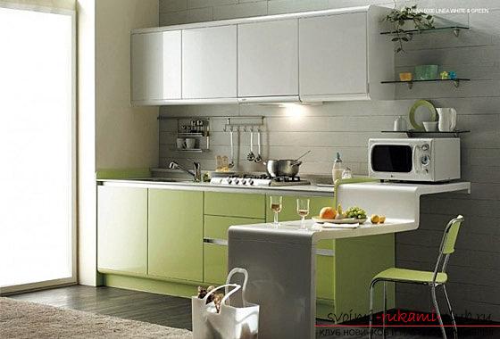 Фото примери за дизайн на малки кухни. Снимка №5