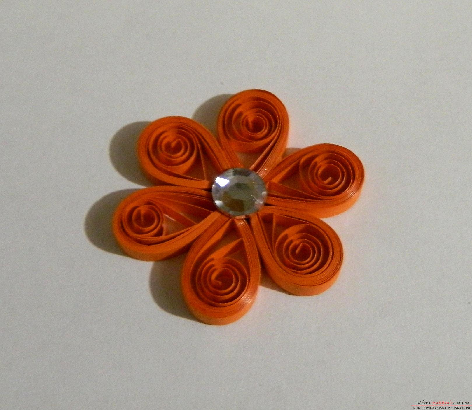 This master class will teach you how to make beautiful quilling postcards with your hands .. Photo # 13