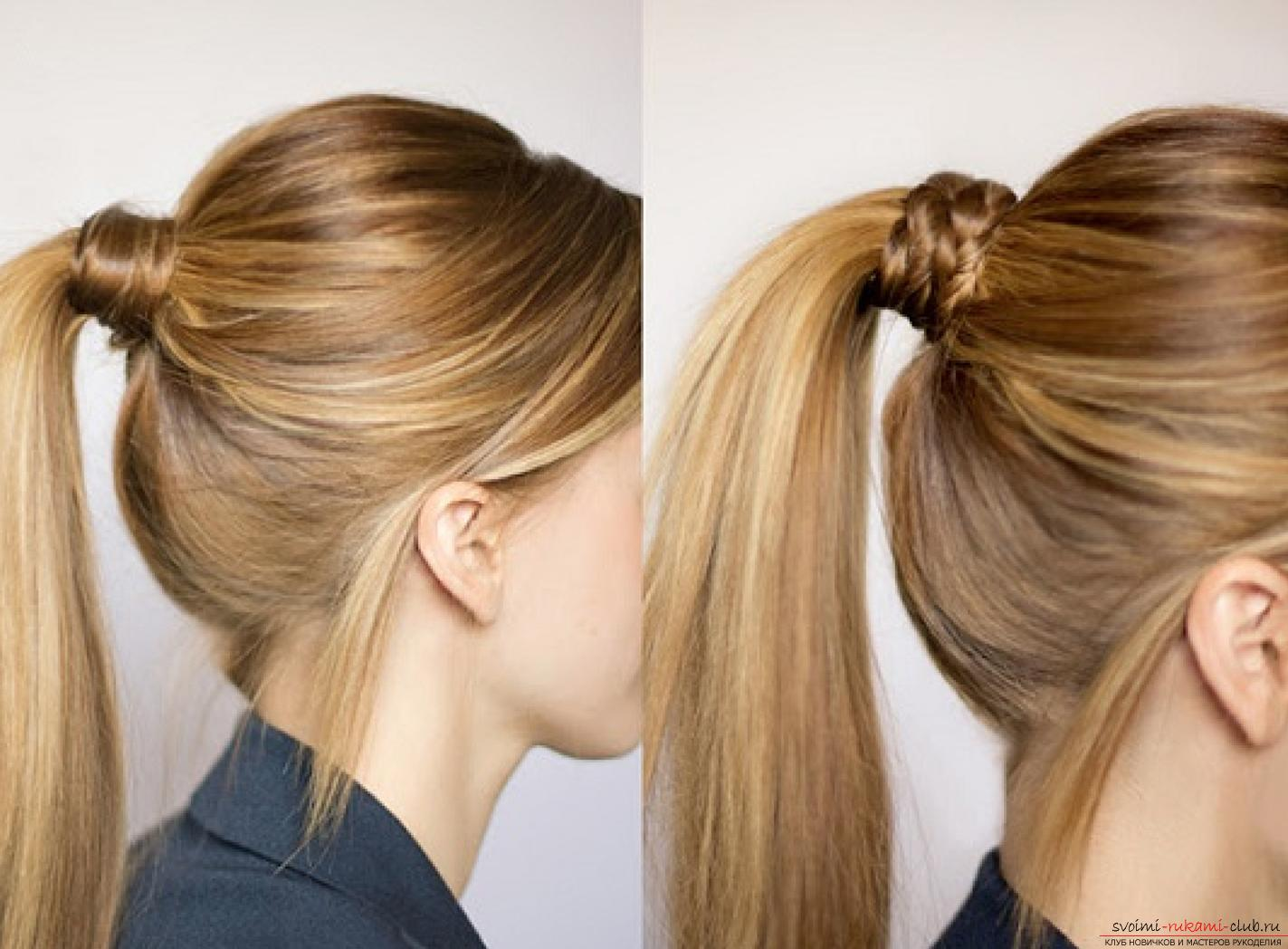 Easy beautiful hairstyles for school. Photo №6