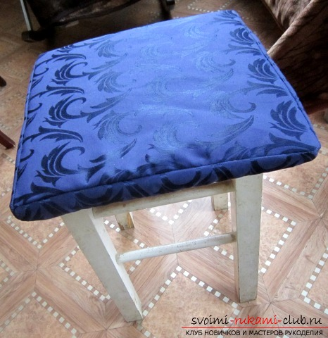How to make a chair cover with your own hands. Photo №1