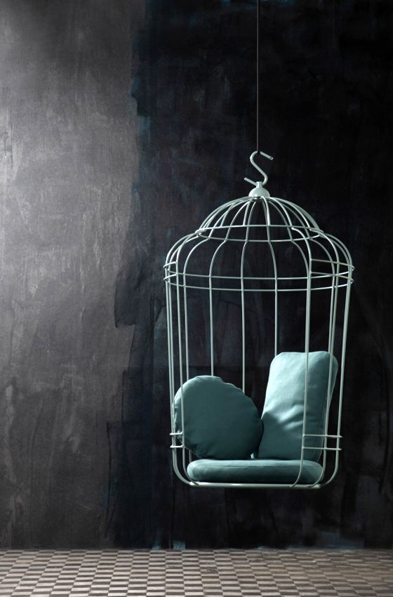 original hanging chair - cage