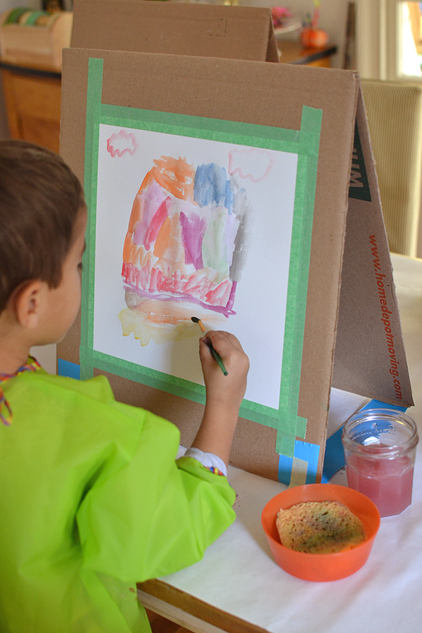 Summer crafts with children. Drawings, applications on the theme of summer.