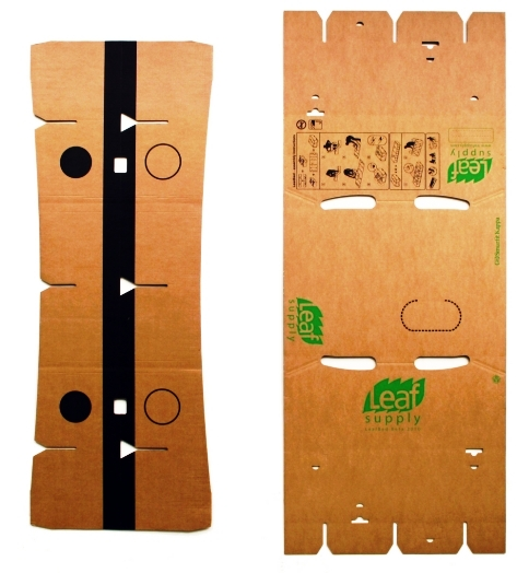 details for cardboard furniture