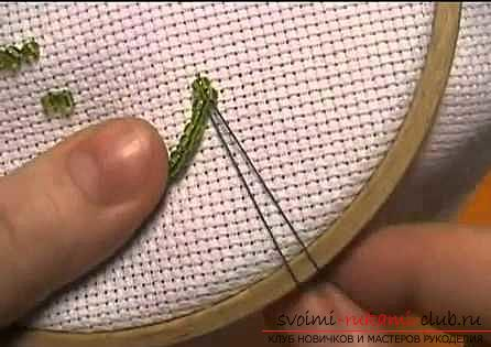 Learn how to embroider beads quickly and easily. Photo # 2