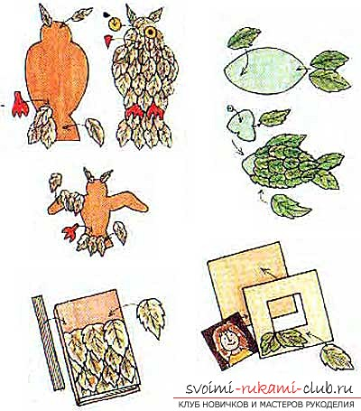 Ideas for autumn crafts. Picture №10