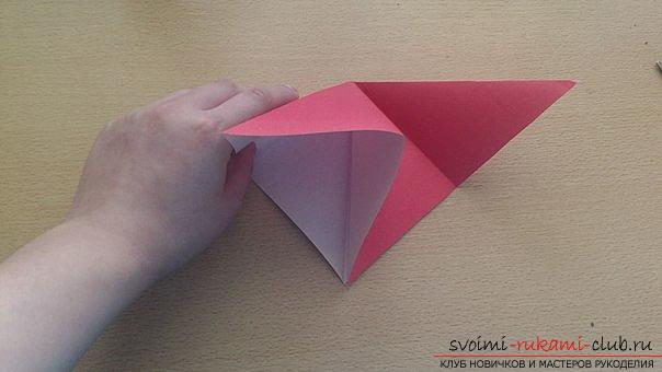 This detailed master class contains an origami-dragon scheme made of paper, which you can make by yourself. Photo # 7