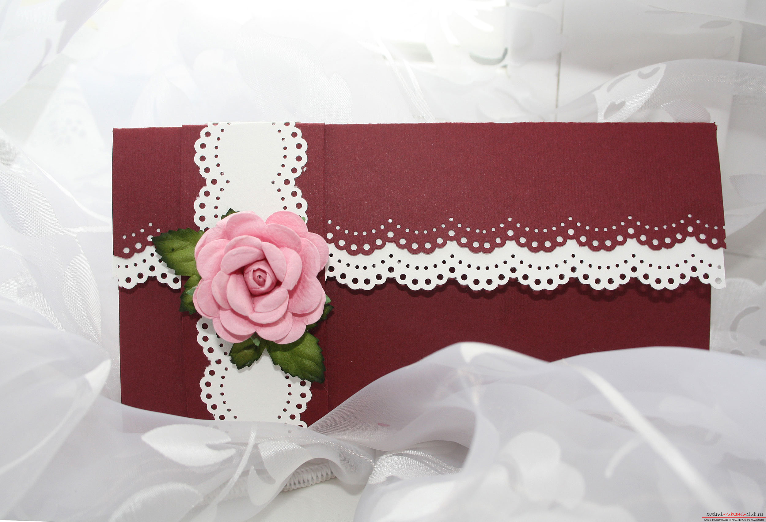 Romantic envelope with your own hands. Photo # 2