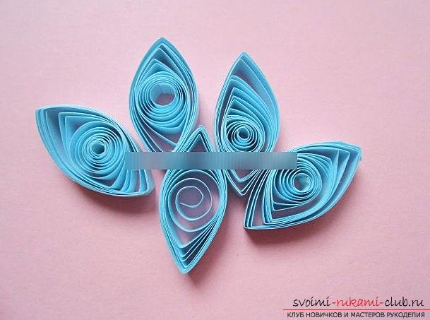 Quilling postcards for the day of jam with your own hands - a step-by-step master class. Photo №4