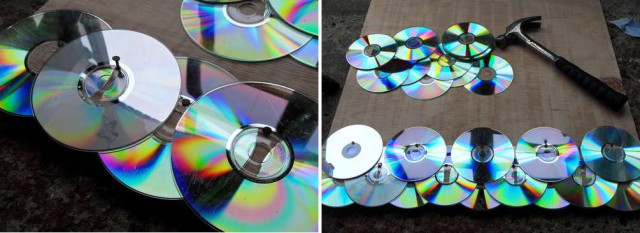 disc laying process