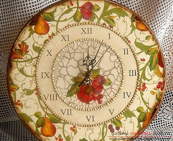 Watch decoupage for beginners. Photo # 2