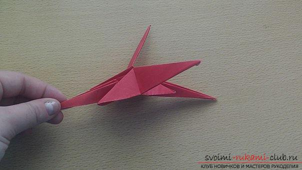 This detailed master class contains an origami-dragon scheme made of paper, which you can make by yourself. Picture # 34